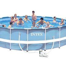 INTEX - bazén Prism Frame 549 x 122 cm s filtračním zařízením 26752