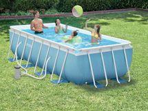 INTEX - bazén Prism Frame obdélníkový 300 x 175 x 80 cm s filtračním zařízením 26772
