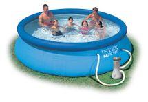 INTEX - nafukovací bazén 366x76 cm s filtračním zařízením 28132