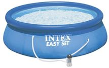 INTEX - nafukovací bazén 396x84 cm s filtračním zařízením 28142