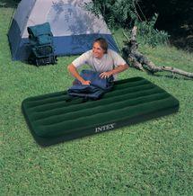 INTEX - nafukovací postel 66967 Twin Prestige Downy s přiloženou elektrickou pumpou