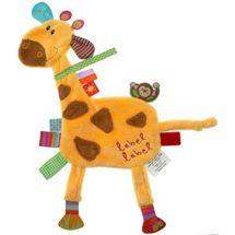 LABEL-LABEL - Žirafka, žlutá