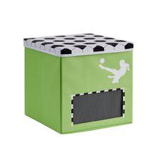STORE IT - Box na hračky s krytem - Fotbal, Goooal, malý