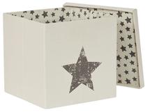 LOVE IT STORE IT - Box na hračky s krytem - přírodní barva, Star