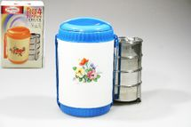 MAKRO - jídlonosič 4dílná plast + nerez 4x250ml