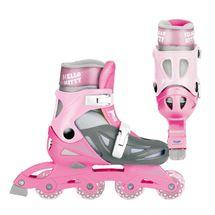 MONDO - in line kolečkové brusle Hello Kitty velikost 33-36