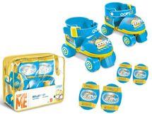 MONDO - kolečkové brusle Minion s chrániči 280490
