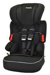 NANIA - Autosedačka Beline Limited 9-36 kg QUILT Black