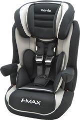NANIA - Autosedačka I-MAX lux Isofix 9-36 kg AgoraBlack
