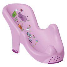 PRIMA BABY - Lehátko do vany Hippo - sv.fialová