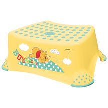 PRIMA BABY - Schůdek na WC / umyvadlo Winnie Pooh, žlutý