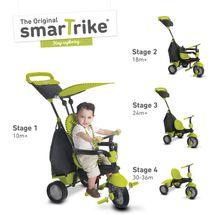SMART TRIKE - Tříkolka Glow 4 v 1, zelená