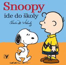 Snoopy ide do školy - Charles Schulz
