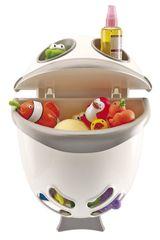 THERMOBABY - Box na hračky do koupelny Bubble Fish - šedá