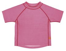 LÄSSIG - Tričko Rashguard Short Sleeve Girls 2016 - light pink XL