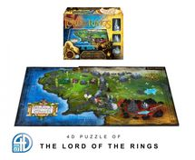 4D CITYSCAPE - 4D Puzzle - Pán prstenů (Lord of the Rings)