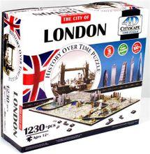 4D Cityscape - 4D Puzzle Time panorama Londýn