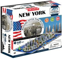 4D Cityscape - 4D Puzzle Time panorama New York