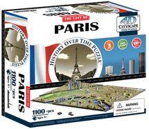 4D Cityscape - 4D Puzzle Time panorama Paříž