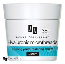 AA - Dermo Technology 35+ Zpevňující NOČNÍ KRÉM s HIALU Multi COMPLEXEM a koenzymem Q10 50 ml