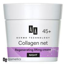 AA - Dermo Technology 45+ Regenerační a liftingový NOČNÍ KRÉM s kolagenem a vitamínem E 50 ml