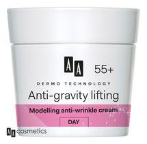 AA - Dermo Technology 55+ Protivráskový DENNÍ KRÉM s kolagenem a arganovým olejem 50 ml