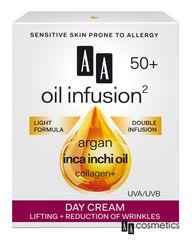 AA - Oil Infusion Denní liftingový a zpevňující krém 50+ 50 ml