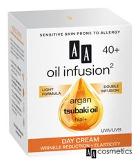 AA - Oil Infusion Denní zpevňující krém 40+ 50 ml