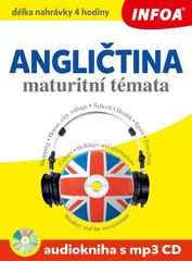 Angličtina maturitní témata + CDmp3