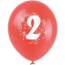 ARPEX - Balónky nafukovací - s číslem 2