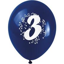 ARPEX - Balónky nafukovací - s číslem 3