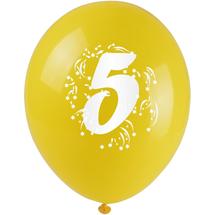 ARPEX - Balónky nafukovací - s číslem 5