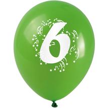 ARPEX - Balónky nafukovací - s číslem 6
