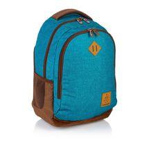 ASTRA - Studentský batoh Head HD-56 modrohnědý