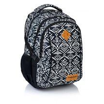 ASTRA - Studentský batoh Head HD-74 černobílý
