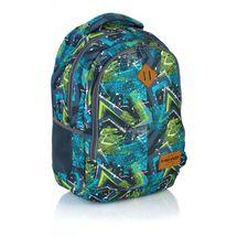 ASTRA - Studentský batoh Head HD-78 modrozelený