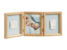 BABY ART - Rámeček Double Print Frame Honey