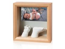 BABY ART - Rámeček Photo Sculpture Frame Honey