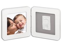 BABY ART - Rámeček Print Frame White & Grey