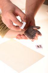 BABY DAB - Barva na dětské otisky - fialová