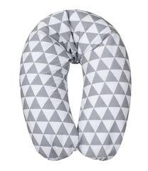 BABYMATEX - Kojící polštář Relax bílošedá, 170cm