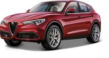 BBURAGO - Alfa Romeo Stelvio 1:24 Red