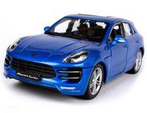 BBURAGO - Porsche Macan 1:24 Blue PLUS