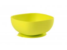 BEABA - Miska silikonová s přísavkou Green