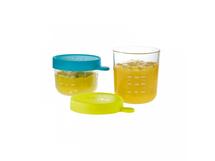 BEABA - Kelímek na jídlo skleněný 2ks 150ml / 250ml