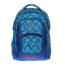 BELMIL - BelMil školní batoh 338-27 Green Blue