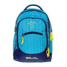 BELMIL - BelMil školní batoh 338-27 Peacock Blue
