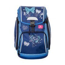 BELMIL - BelMil školní batoh 404-31 Blue Butterflie