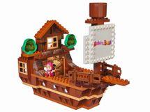 BIG - PlayBig Bloxx Máša a medvěd Míšova loď