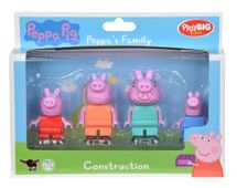 BIG - Playbig Bloxx  Peppa Pig Figurky Rodina